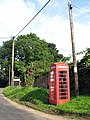 Old red telephone kiosk - geograph.org.uk - 899669.jpg