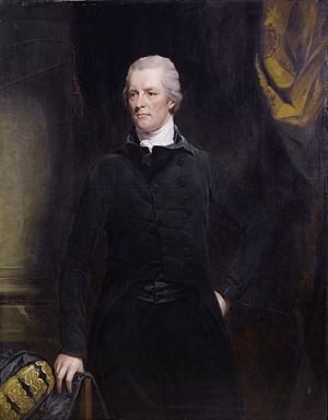 Eden Agreement - William Pitt the Younger (1744-1814) was essential to the consummation of the Eden Treaty.