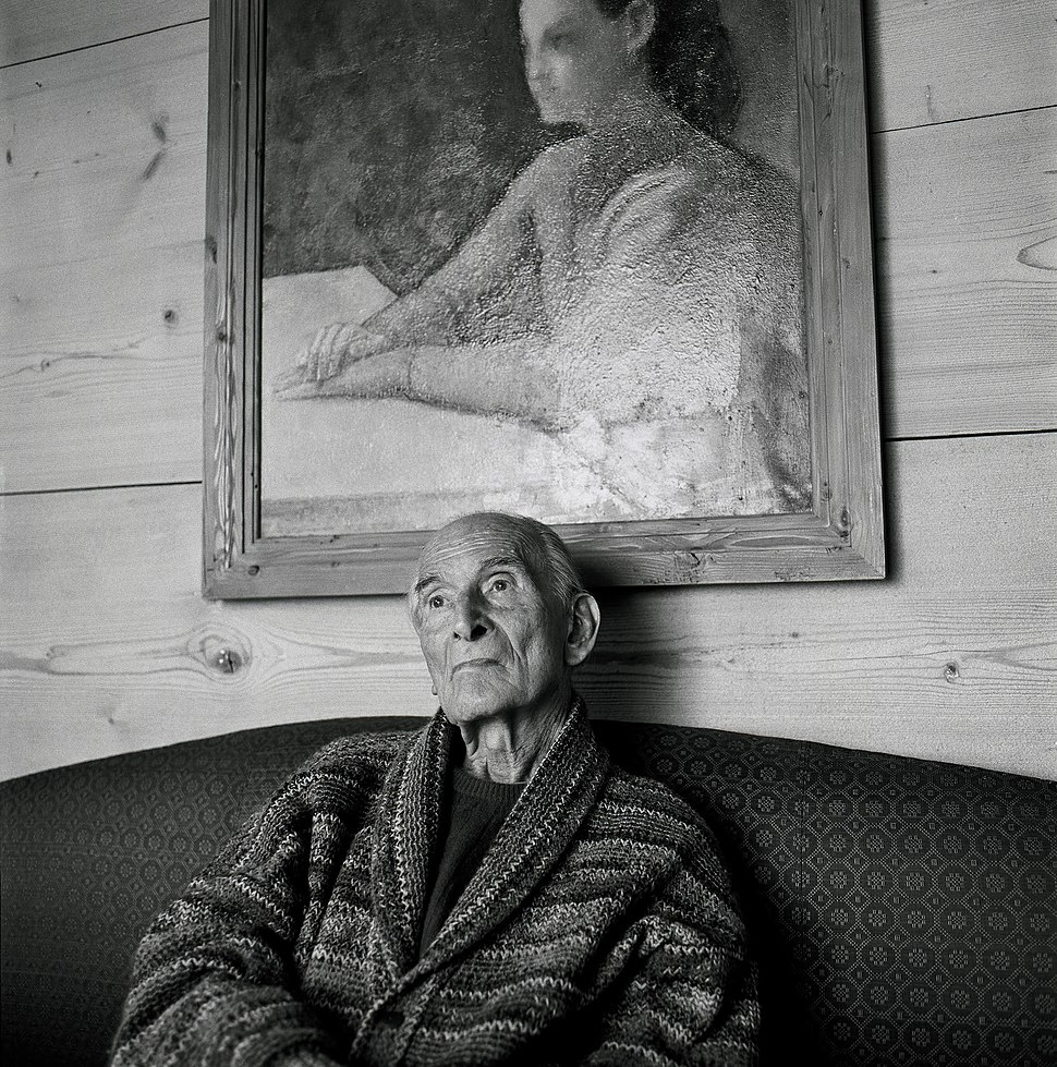 Oliver Mark - Balthus, Rossinière 2000 (1)