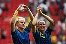 Olympic Games 2016 match between the women's teams of the United States - Sweden. 24.jpg