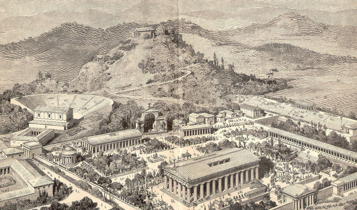 the ancient olympic games essay Essay: ancient olympics since 1896, the year the olympics were resurrected from ancient history, the olympics have been a symbol of the camaraderie and harmony possible on a global scale.