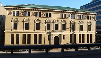 Omaha Public Library (building) - Image: Omaha Public Library from N 1