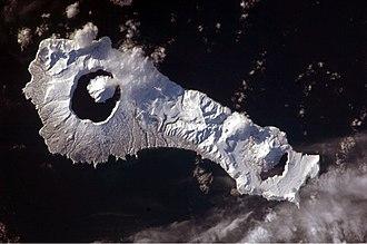 Onekotan - Image: Onekotan Island, Kuril Islands, Russian Federation