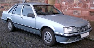 IDA-Opel - Image: Opel Senator front 20080303