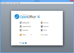 Apache OpenOffice 4 sur Windows 8.
