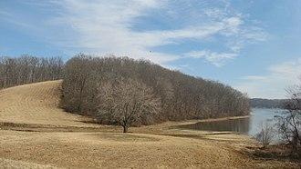 Cherokee State Park (Kentucky) - Land on the park's western edge