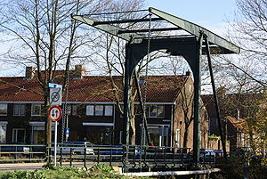 Papendrecht - Drawbridge in Papendrecht