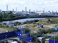 Orchard Place E14, looking towards Stratford.jpg