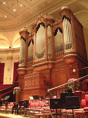 Concertgebouw - The organ in the Main Hall of the Concertgebouw