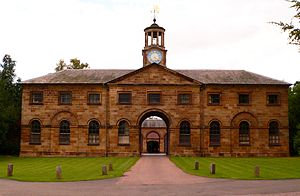 Ormesby - Ormesby Hall Stables: the stable block housed the horses of Cleveland Police Mounted Section, until it was disbanded in 2013.