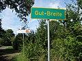 Ortseingang Gut Breite - Naturpark Nuthe Nieplitz - panoramio.jpg