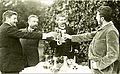 Oscar Björk, Teodor Lundberg, Carl Möller Prins Eugen 1891.jpg