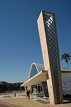 Oscar Niemeyer's Church of St Francis in Belo Horizonte2