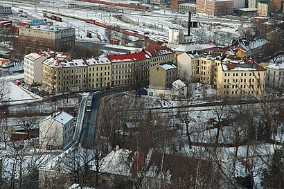 How to get to Oslo Gate with public transit - About the place
