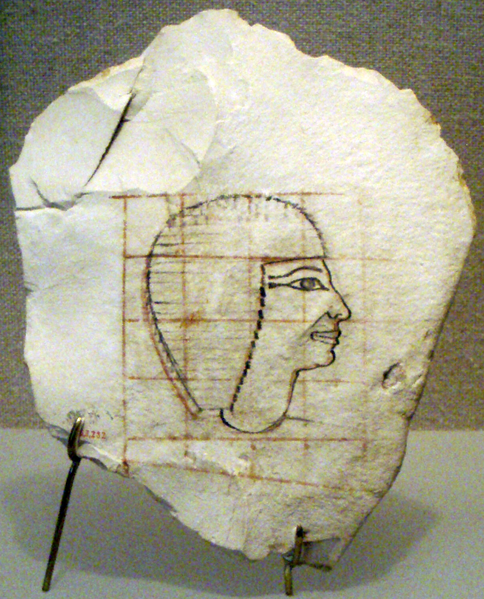File:Ostracon-ThoughtToDepictSenenmut01 MetropolitanMuseum.png