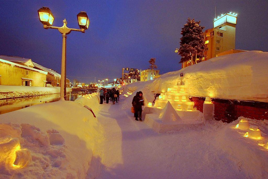 Otaru Snow Light Path 2013 - panoramio