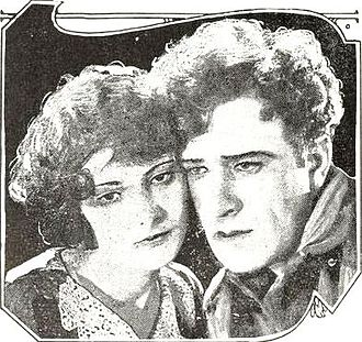 Barbara Bedford (actress) - Bedford with Frank Mayo in Out of the Silent North
