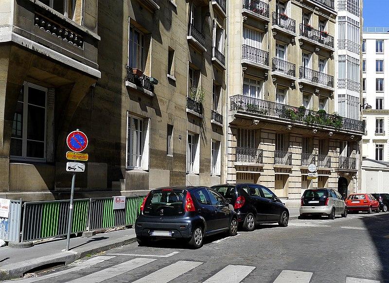 Fichier:P1260028 Paris VIII rue du Docteur Lancereaux rwk.jpg