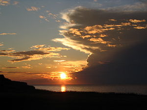 Sunset at Nova Scotia