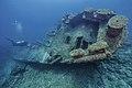 PMNM - Setting Invasive Species Quadrat On USS Macaw (35209735730).jpg