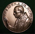 POPE PIUS XII 1950 MID CENTURY MEDALLION a - Flickr - woody1778a.jpg