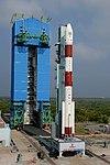 PSLV-C44 at First Launch Pad SDSC SHAR Sriharikota 10.jpg