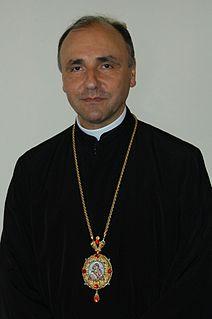 Virgil Bercea Bishop of the Greek Catholic Diocese of Oradea Mare