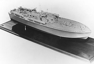 Motor Torpedo Boat PT-109 - Image: PT109official Model
