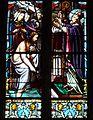 Pagny-sur-Meuse Eglise vitrail bapteme de Clovis détail.jpg