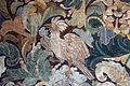 Palazzo colonna, sala dei ricami all'indiana, parati in seta di manifattura iberica (attr. a diego casale), 1650-75 ca. 08 uccello.JPG