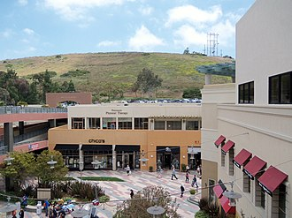 Rolling Hills Estates, California - Promenade on the Peninsula mall, Rolling Hills Estates