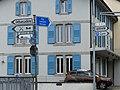 Panneaux routiers d'indication suisses, avec nombreux idéogrammes.jpg