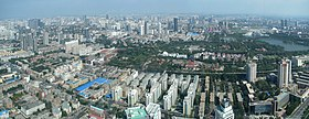 Panoramic View from Tianjin TV Tower East(small)(2008-08).JPG