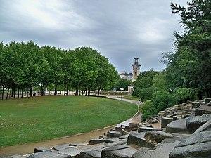 Français : Parc Georges Brassens, vue générale
