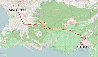 Marseille-Cassis Classique Internationale - Marseille-Cassis race course