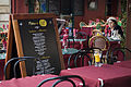 Paris - Old lady sitting in a cafe, Rue Mouffetard - 3251.jpg