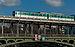 Paris Metro Line 6 train crossing Pont de Bir-Hakeim, East Part 140203 6.jpg