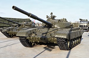 T-72 - The initial T-72 production model.