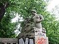 Park am Weißen See Steinbrücke Triton links von Hans Schellhorn.JPG