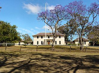 John Watts (military architect) - Old Government House, Parramatta.