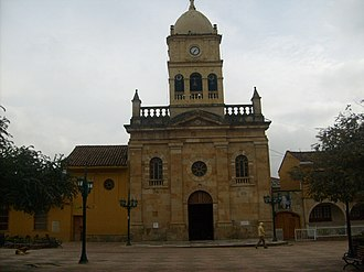 La Calera, Cundinamarca - The largest Catholic church in La Calera