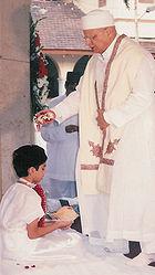 Parsi Navjote ceremony (rites of admission into the Zoroastrian faith)