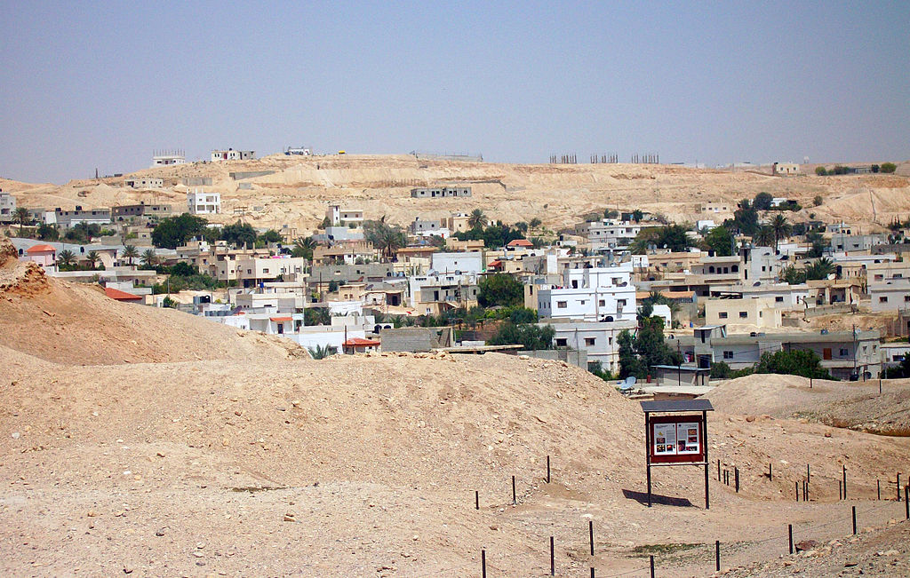 Partial view of Jericho from ruins.jpg