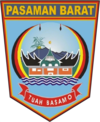 Official seal of West Pasaman Regency