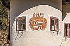 Paternion Kreuzen 32 Schloss SW-Turm Wappen Ortenburg Widmann 06042018 2875.jpg