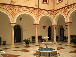 Andalusian Patio - Typical patio of Sevillan houses.