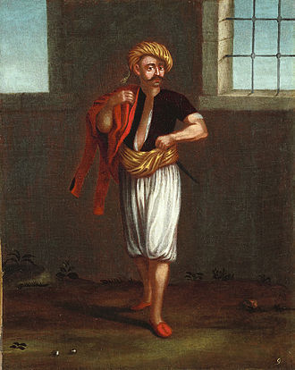 Patrona Halil - Portrait of Patrona Halil made by Jean Baptiste Vanmour