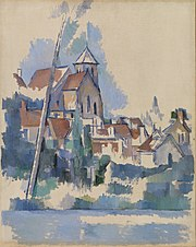 Paul Cézanne - Church at Montigny-sur-Loing (L'Église de Montigny-sur-Loing) - BF970 - Barnes Foundation.jpg