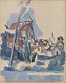 Paul Cézanne - Church at Montigny-sur-Loing (L'Église de Montigny-sur-Loing) - BF970 - Barnes Foundation.jpg