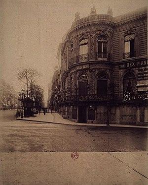 Palais Berlitz - 33 boulevard des Italiens, c. 1907-1908